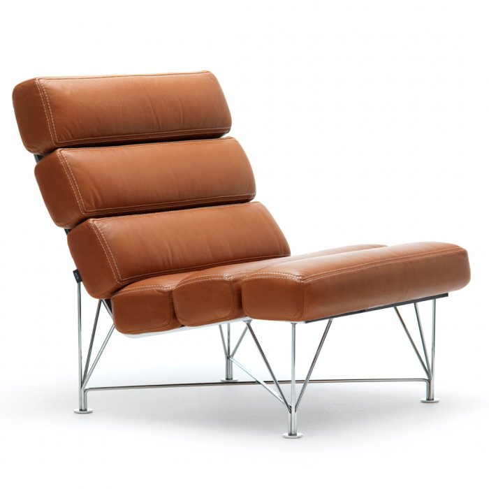 Spider chair - cognac
